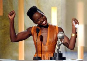 Exercises to get arms like Lupita