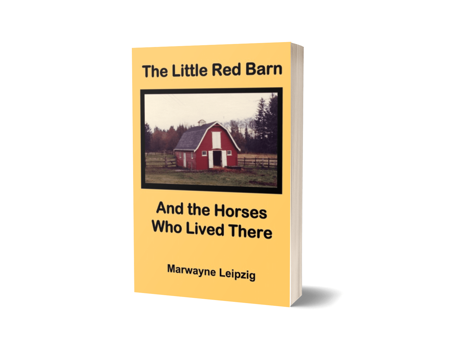 The Little Red Barn And the Horses Who Lived There