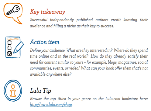 Key Takeaways for getting to know your audience