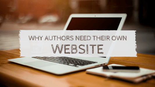 If you're an author, a website is crucial for marketing your writing career.