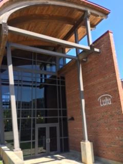 Lulu's Main Entrance to our Hillsborough St Building