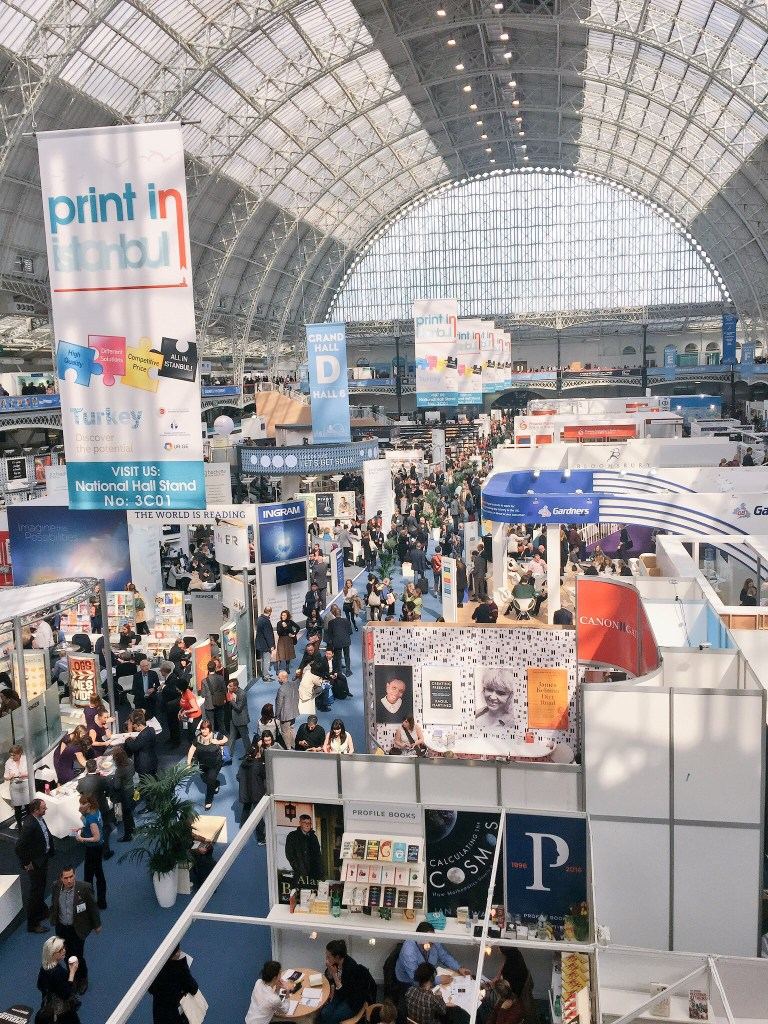 2016 London Book Fair view from above
