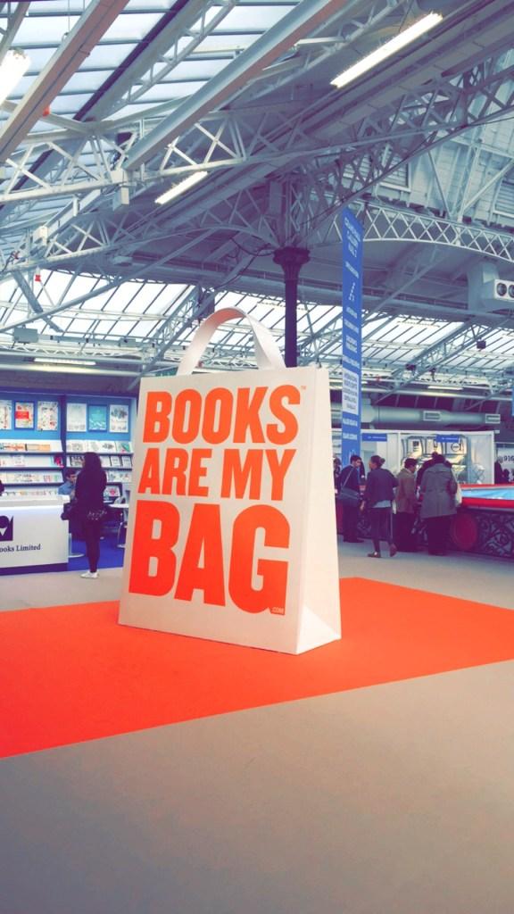 Books are my bag The London Book Fair 2016.
