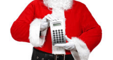 Santa With a Calculator