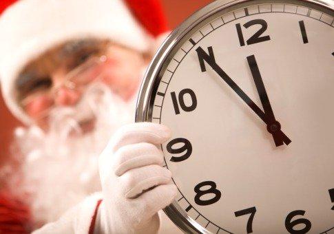 last-minute Santa