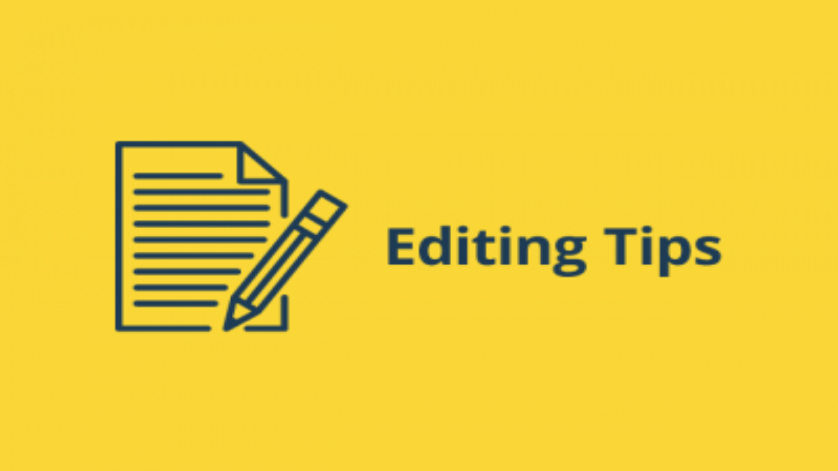 Editing Tips Blog Header Graphic