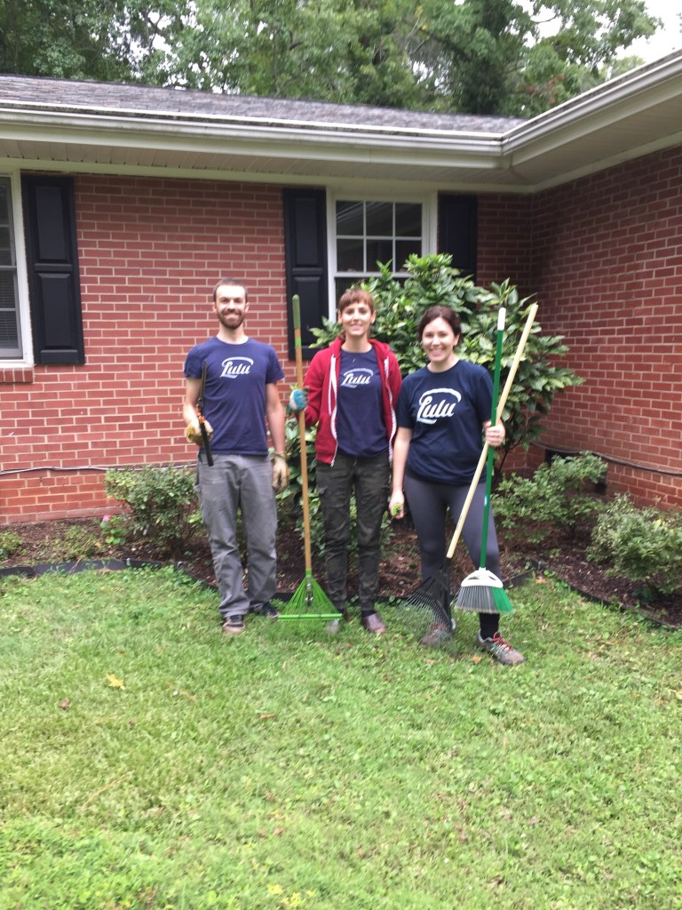 Paul-Sheridan-and-Arwen-doing-yard-work