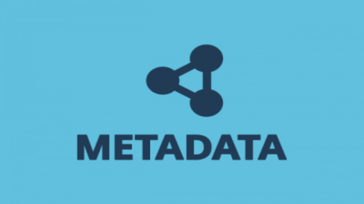 Metadata Blog Graphic Header