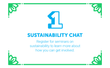 30 Ways in 30 Days #1 - Sustainability Chat