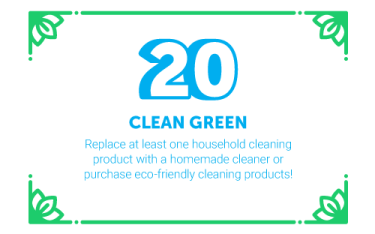 30 Ways in 30 Days #20 - Clean Green