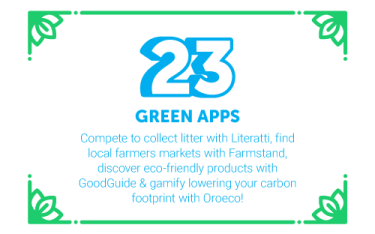 30 Ways in 30 Days #23 - Green apps