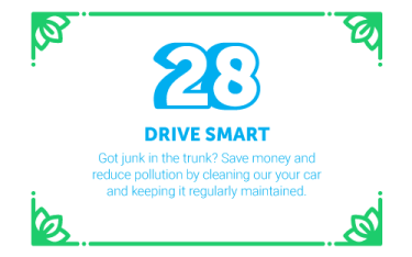 30 Ways in 30 Days #28 - Drive Smart