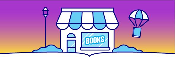 Bookstore Header Graphic