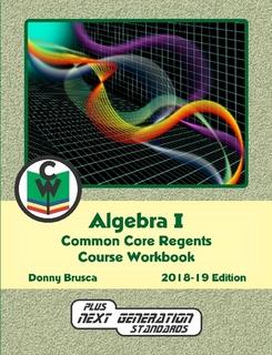 Algebra 1 Common Core
