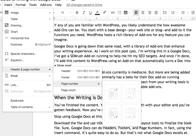 The Ultimate Guide to Writing with Google Docs | Lulu Blog