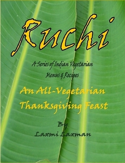 Ruchi_an all vegeterian thanksgiving feast