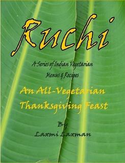 Ruchi_an all vegetarian thanksgiving feast