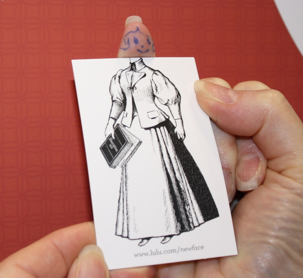 Thumb-face Paper Doll