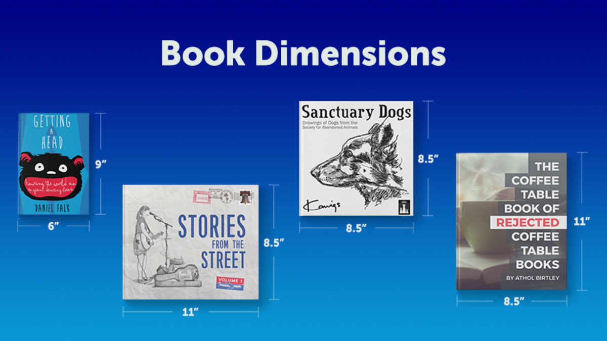 Book Dimensions Blog Graphic Header