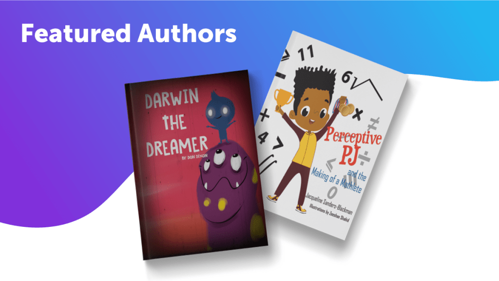 July Featured Authors Blog Header
