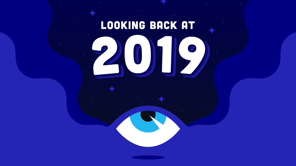 Looking Back at 2019 Blog Graphic Header