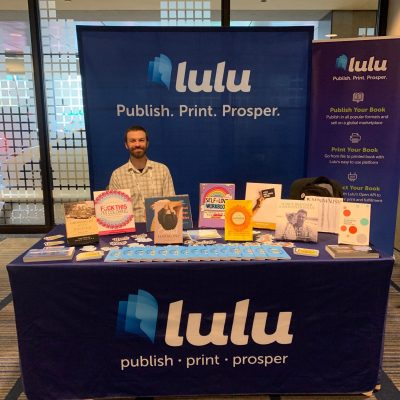 Lulu's Booth at San Francisco Writer's Conference
