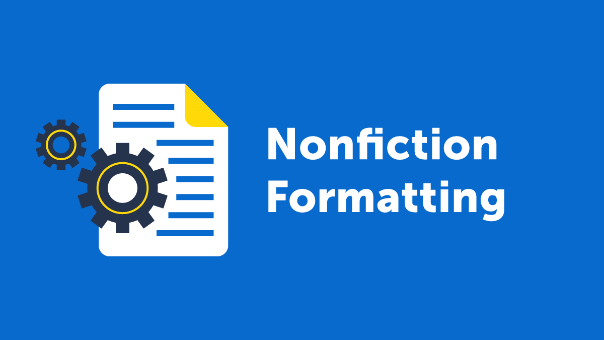 Nonfiction Book Formatting Trick using MS Word