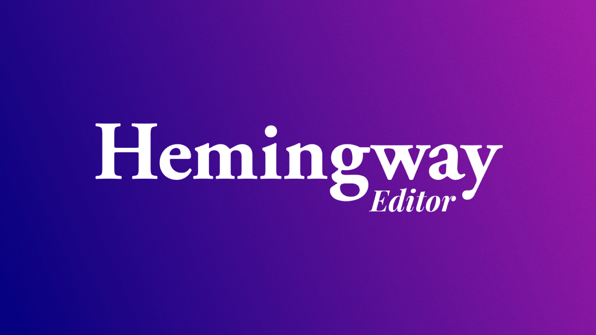 Hemingway Editor Blog Graphic