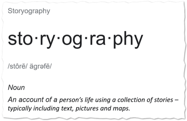 Storyography definition from Journus