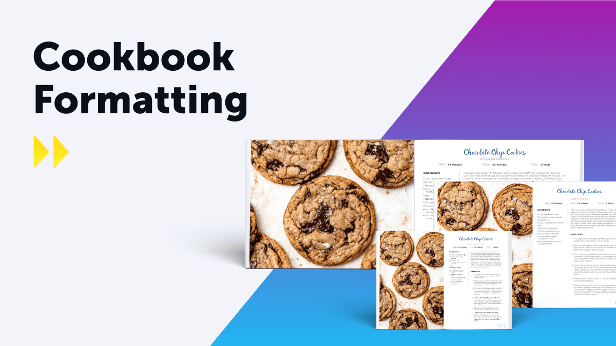 Cookbook Formatting Blog Header Graphic