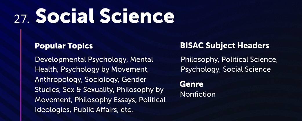 Social Science Lulu Bookstore Category