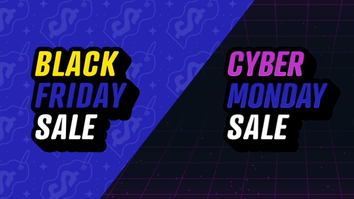 Black Friday and Cyber Monday Planning for Authors blog graphic header