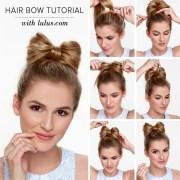lulu - hair bow tutorial