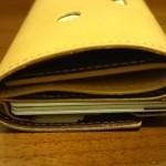 小さい財布ダンボーバージョンを横から
