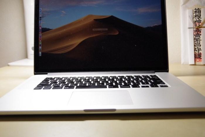 Macbook Pro 2015 mid イメージ画像4