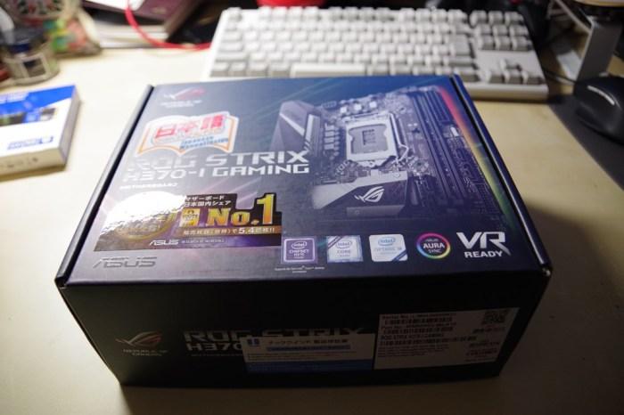 サーバーPC:マザーボードは「ROG STRIX H370-I GAMING」