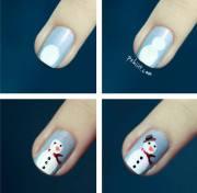 gorgeous . christmas nail art