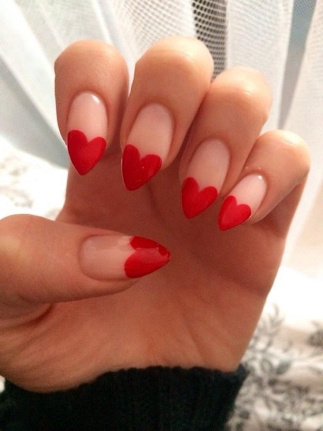 Valentine S Day Acrylic Nail Art 2017