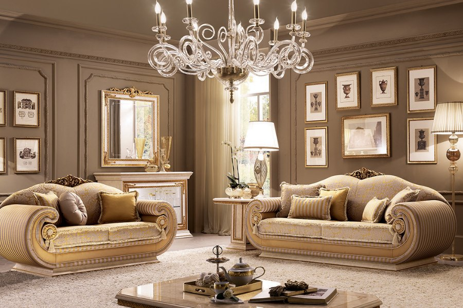 Luxury living rooms ideas and tips to furnish spaces in a classic style