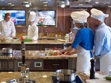 Oceania Cruises Culinary Kitchen