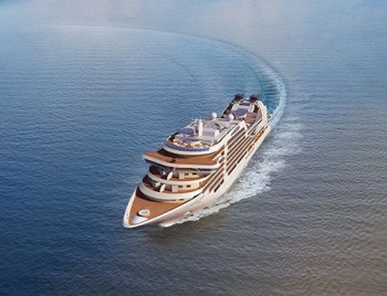 Seabourn Encore Aerial View