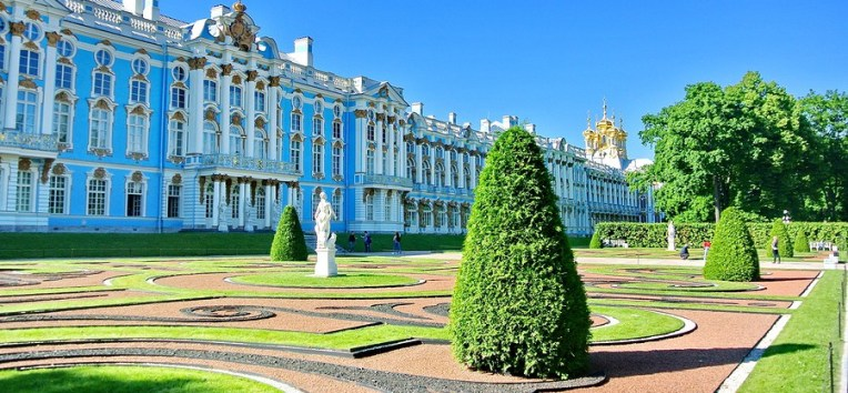 Catherine Palace, St. Petersburg, Russia