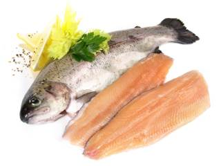 Forellen Vitamin-B12-haltige Lebensmittel