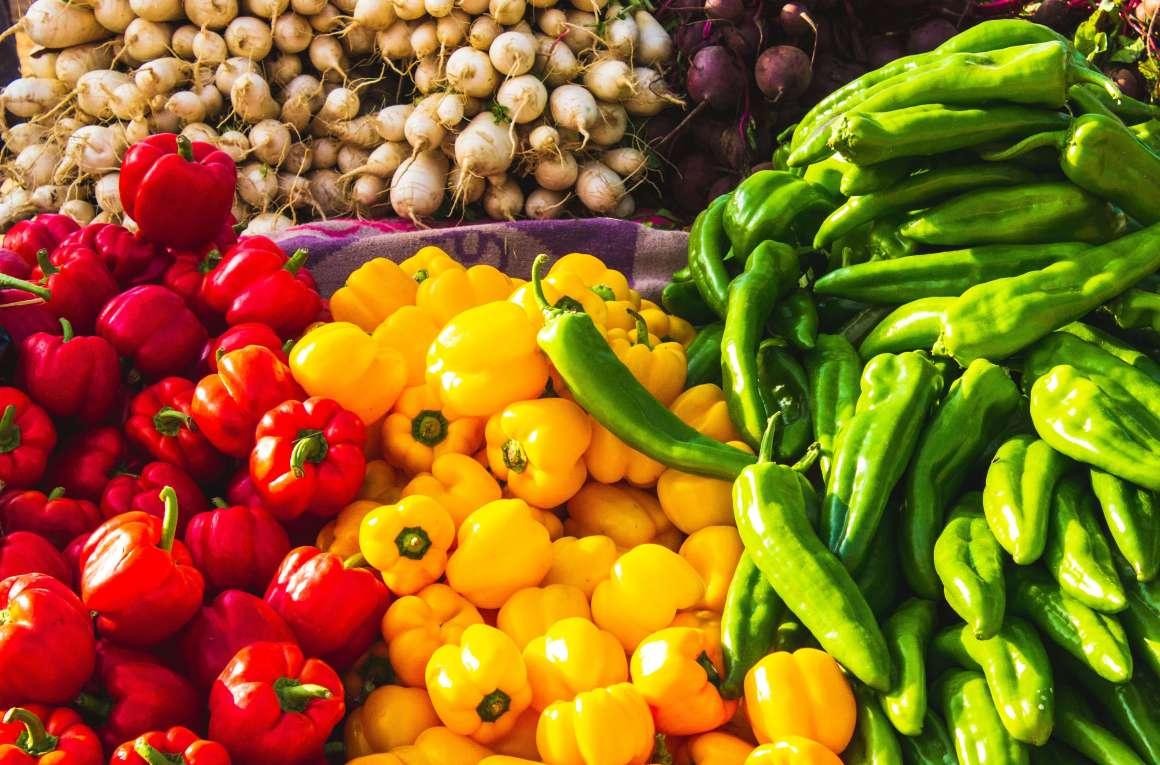 Bild von Gemüse