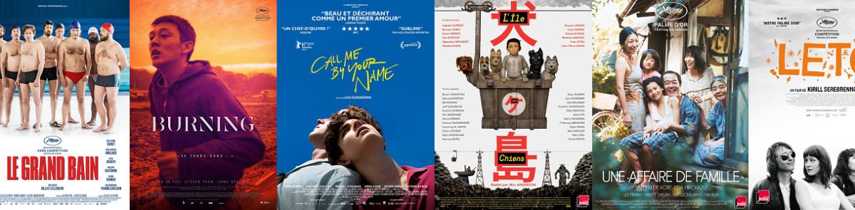 Quels sont les films de l'année 2018 pour l'association LYF ?
