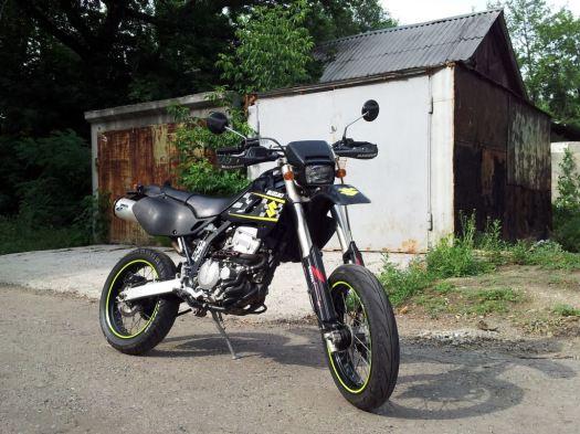 Suzuki SB250 Kawasaki D-Tracker