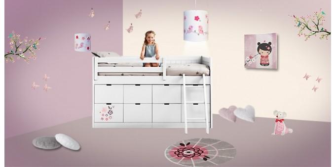 Notre thème décoration japonais pour une chambre de fille ...