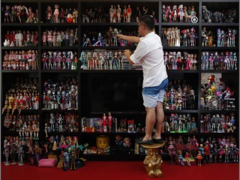 collectionneur de Barbie