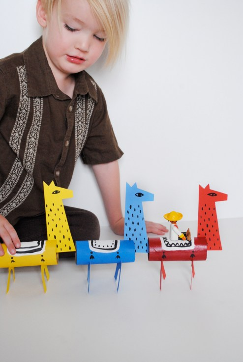 Fabriquer des lamas DIY4