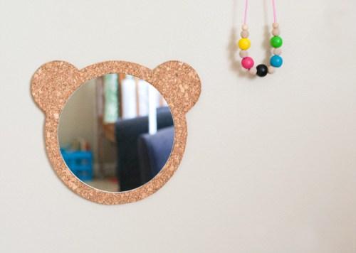miroir ourson
